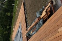 Bauphase - Die Holzterrasse