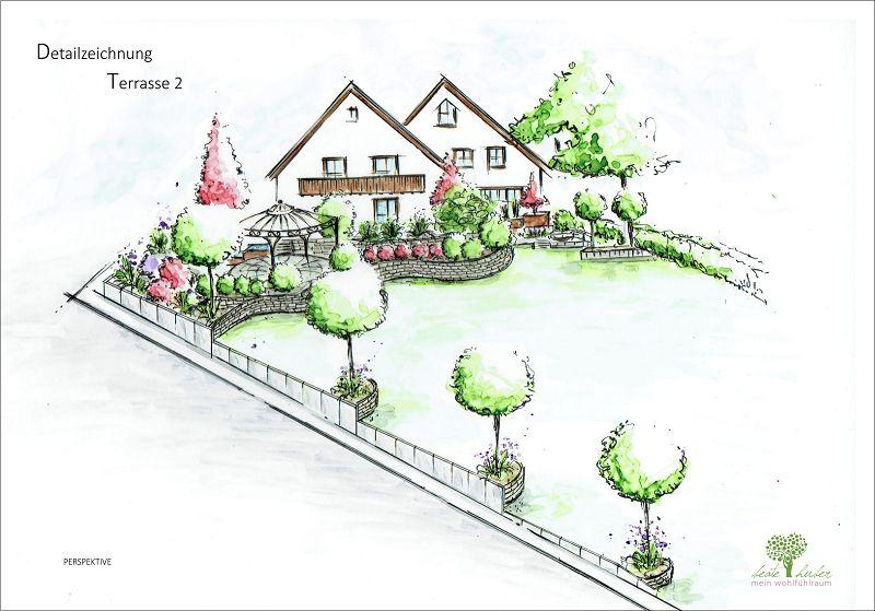 Hölzl Detailzeichnung Terrasse 2